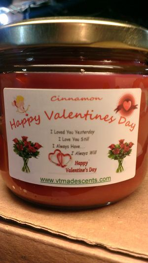 GENERIC VALENTINES DAY CANDLE